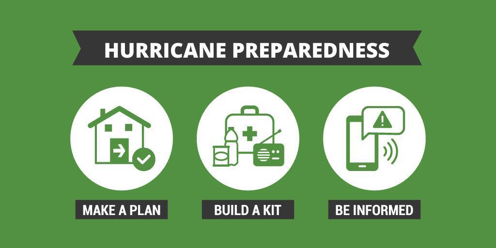 Make a plan - Build a kit - Be informed
